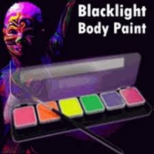 Black Light Body Paint Glow In The Dark U0026 Black Light Makeup And Nail Polish