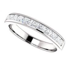 channel set wedding band mens bezel set wedding ring mens bezel set wedding band