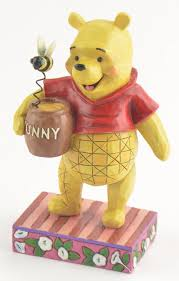 jim shore figurine winnie the pooh silly