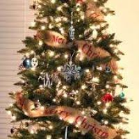 garland tree decore