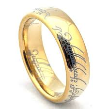 gold wedding rings of the rings replica tungsten wedding band gold plated