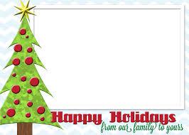 free holiday card printable