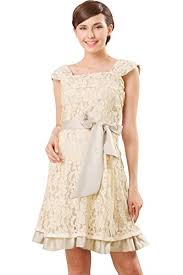 sweet mommy layered lace maternity and nursing formal dress