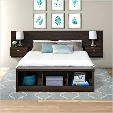 Storage Bed With Headboard Bed Headboard Shelf Charming Storage Bed With Headboard Platform