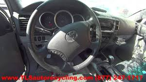 parting out 2006 toyota 4 runner stock 6160bl tls auto recycling