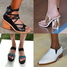 fashion week spring 2015 shoe trends popsugar fashion australia