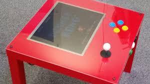 play table board game console create a raspberry pi arcade using ikea s cheapest table geek com