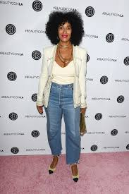 cute hairstylesondoesross for black people tracee ellis ross in chanel and vetements at the beautycon l a