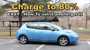 nissan leaf charging options charge your nissan leaf to 80 percent easily and every time youtube