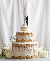 Wedding Cake No Icing No Bake Rice Krispies Wedding Cake Recipe Good Cookery