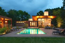 pool house modern ranch with pool house makes merry retreat in minneapolis curbed