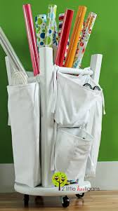 christmas wrapping paper holder ways to organize your gift wrapping essentials