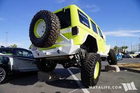 monster jeep jk 2017 sema jive jeep lime green jeep jk wrangler unlimited