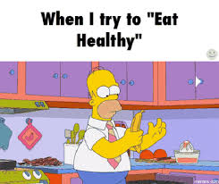 Eating Healthy Meme - the impact of cognitive impairment on healthy living private