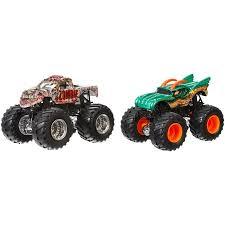 wheel monster jam trucks wheels monster jam demolition doubles 2 pack styles may vary
