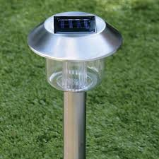 solar lights stainless steel solar lights 4pk poundstretcher poundstretcher