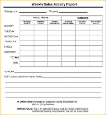 sales call report template sales call report template weekly sales report template jpg pay