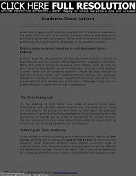 best ideas of cover letter sample academic job for sample