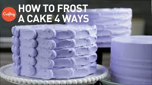 how to frost a cake 4 easy finishes buttercream cake decorating