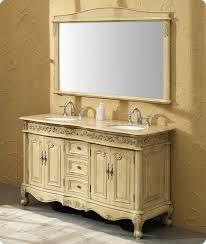 58 Inch Bathroom Vanity by 58inch Bowman Vanity Antique White Vanity Antique White Sink