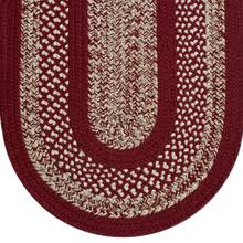 Braided Rug Braided Rug Colonial 112 Classic Country Red Beige Cream