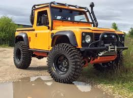 land rover explorer land rover defender 90 tdi pickup truck nas edition customized