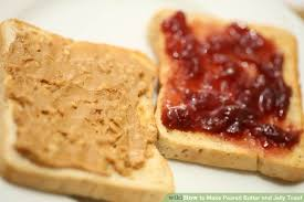 Toasting Bread Without A Toaster How To Make Peanut Butter And Jelly Toast 7 Steps With Pictures