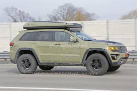 Grand Cherokee Off Road Tires Jeep Grand Cherokee Overlander Concept Slated For Production Off