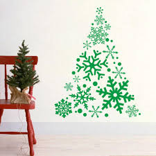 wall stickers xmas christmas tree wall stickers vinyl wall download