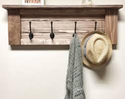 Entryway Home Decor Rustic Wooden Entryway Grey Coat Rack Rustic Wooden Shelf