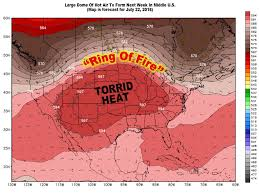 Ring Of Fire Map Ring Of Fire U0027 Over Michigan Next Week As Torrid Heat Wave Develops