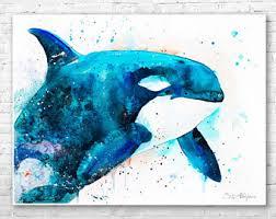 orca art etsy