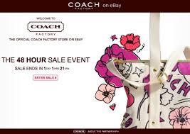 coach factory sale on ebay fashion handbags shoes jewelry more
