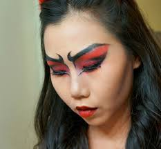 halloween makeup tutorial flaming she devil u2013 candidly claire