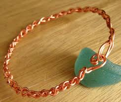 wire woven bracelet images Braided copper bangle tutorial annemade jewelry jpg