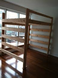 queen size loft bed frame step to build queen size loft bed