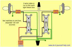 dual light switch wiring diagram wiring diagrams