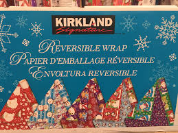 sided wrapping paper has costco got christmas wrapped up daily wrap