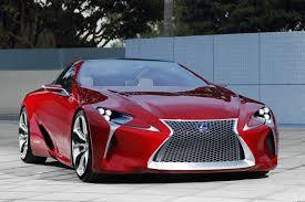 lexus sports car sc lexus lf lc hybrid concept coupe pictures and details
