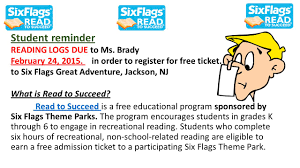 Six Flags New Jersey Tickets Six Flags Great Adventure Offers Students In Grades K 6 The
