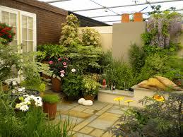 garden brick wall design ideas lawn u0026 garden outstanding small gardens design ideas with high