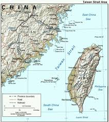 Taiwan Map Asia by Taiwan Geography