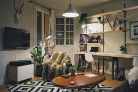 natural rustic parisian apartment