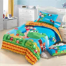 Mario Bedding Set Japanese Character Mario Bedding Set Cotton