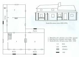 Southern Plantation Style House Plans by Historic Plantation Home Floor Plans