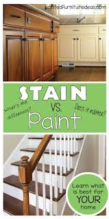 is it better to paint or stain your kitchen cabinets painted furniture ideas what is the difference between