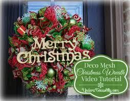 deco mesh wreath tutorial a sky