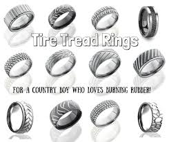 tire wedding ring top wedding bands for your country boy country and ring