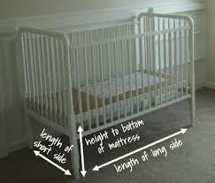 Crib Mattress Sizes Crib Mattress Measurements Mattress