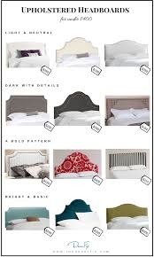 Cushioned Headboards For Beds Upholstered Headboards